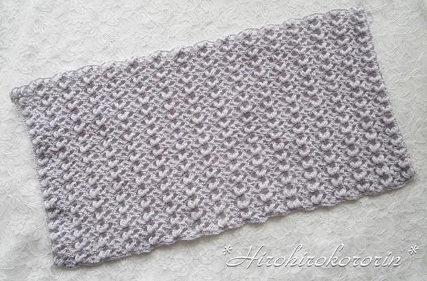 変わり玉編み1