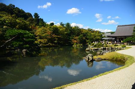 初秋の曹源池