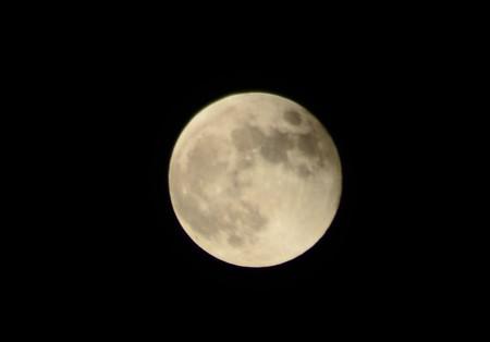 満月に戻りました~