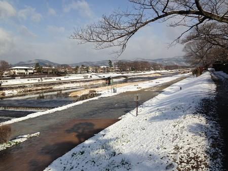 3月の雪~