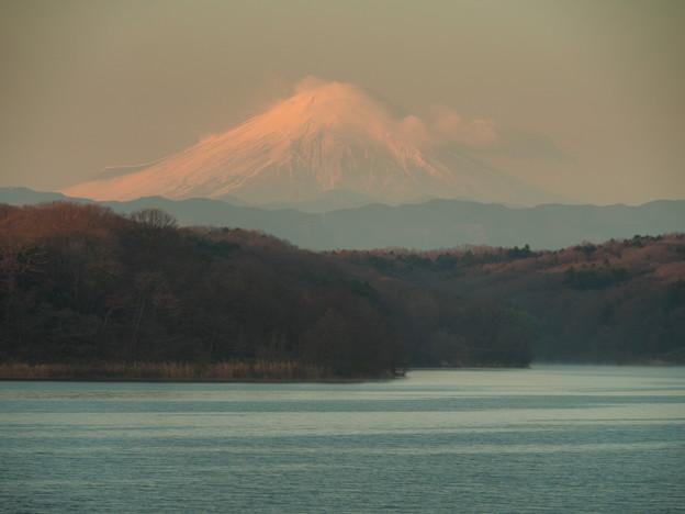 2015,12,27狭山湖の富士山2