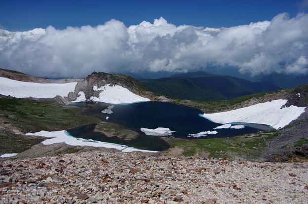 Photos: 乗鞍頂上からの権現池