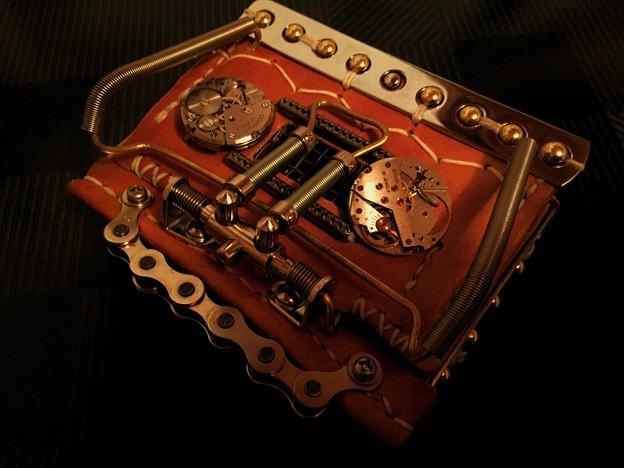 名刺入れ…Steampunk