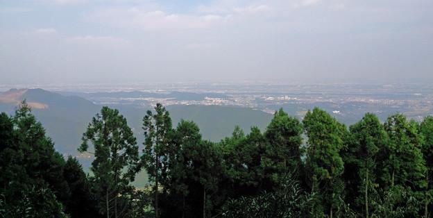 神奈川県厚木市 鐘ケ嶽山頂景色