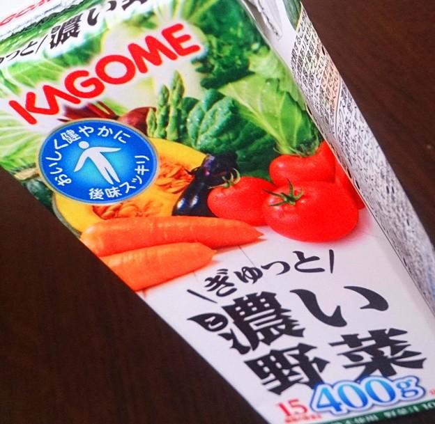 カゴメ ぎゅっと濃い野菜
