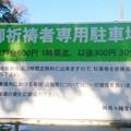 写真: 鶴岡八幡宮 駐車場
