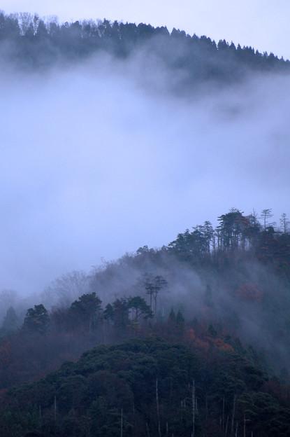 12月の山