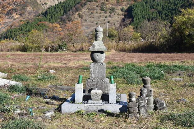 武田元明の墓