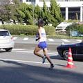 写真: 一つでも上を目指しす日本体育大学小野木俊選手