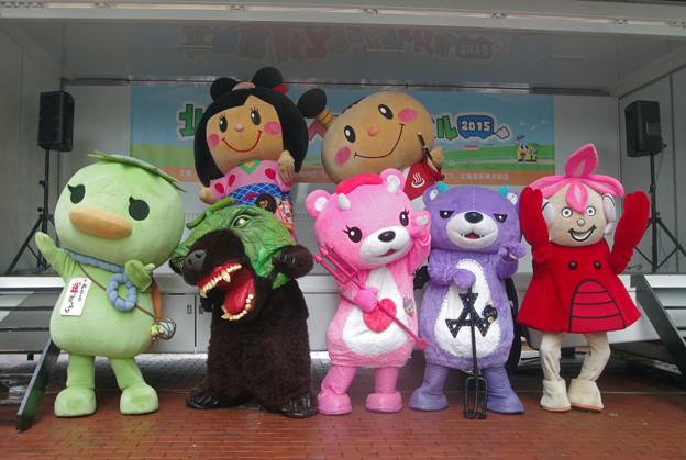 北海道バスフェスティバル2015にて(1)