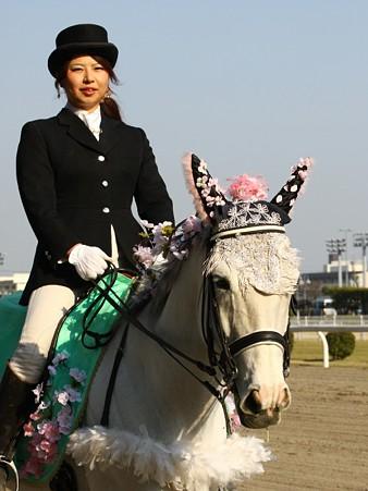 川崎競馬の誘導馬04月開催 桜Verその1-120409-10