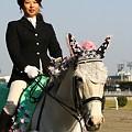 写真: 川崎競馬の誘導馬04月開催 桜Verその1-120409-10-large