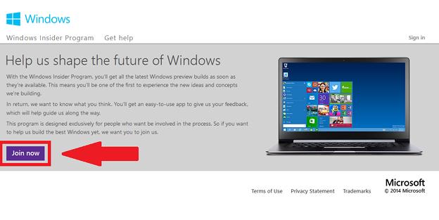 Windows テクニカルプレビュー0