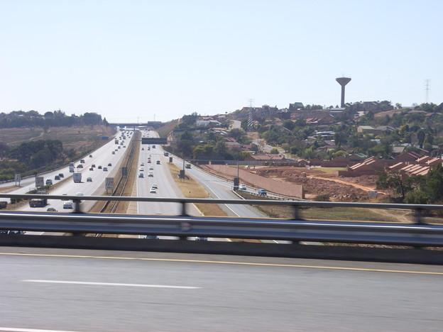 ハウテン 高速道路の立体交差