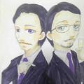 写真: ローラン・カサール(シェルブールの雨傘)&ルイ・グレフ(COCO)  #一...