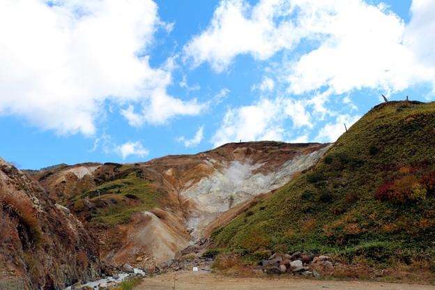 Photos: 万座温泉の噴き出し抗