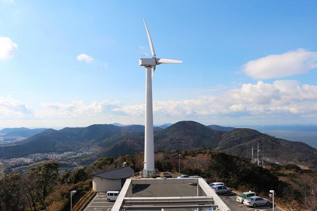 写真: 風力発電設備