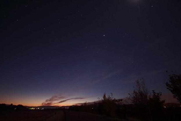 朝の始まり~星のなごり~
