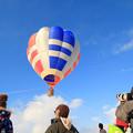 写真: 冬の気球2