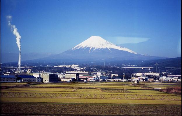 車窓・富士山2