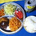 Photos: メンチカツ定食・・・