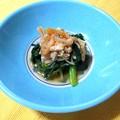 間引き菜とえのきの炒め煮