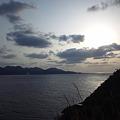 写真: 十六島湾