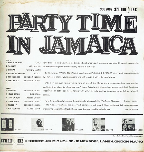 PARTY TIME IN JAMAICA(JA)6