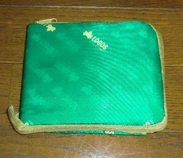 エディオン ロゴス オリジナルコンパクトバッグ