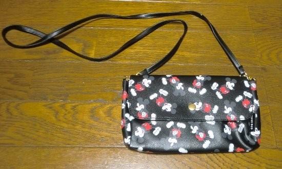 Sweet ローズ バッド特製 ミッキーマウスお財布バッグ