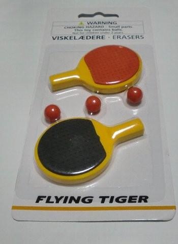 Flying Tiger Copenhagen ピンポン消しゴム