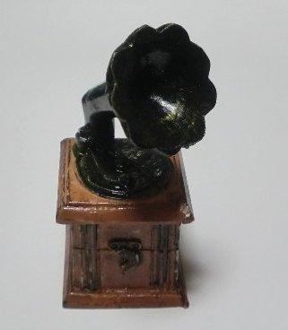 アンティーク風置物 蓄音機