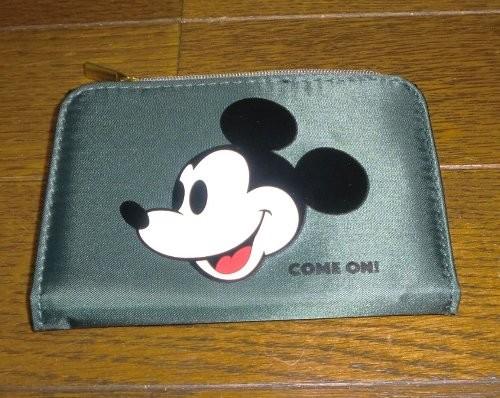 mini ミルクフェド特製 ヴィンテージミッキー おしゃれ財布