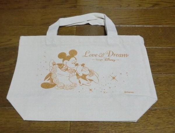 LOVE&DREAM Sings Disney ランチトートバッグ(ミッキー&ミニー)