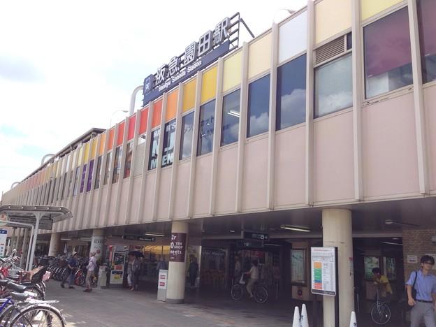 写真: 園田駅