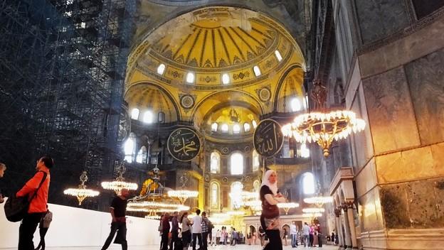 Istanbul  Aagia Sophia(アヤソフィア)
