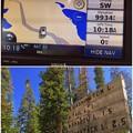 標高3000mのWashington Lake.