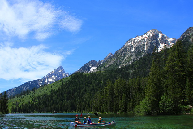 String Lake in Wyoming