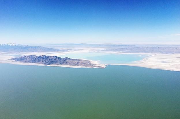 Great Salt Lake 上空…2