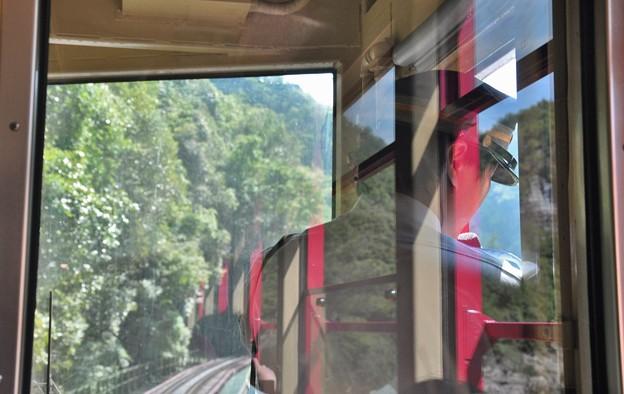 通往嵐山的列車