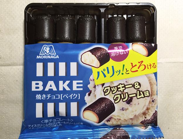 20150630-01『森永』の「焼きチョコ[ベイク]クッキー&クリーム味」02