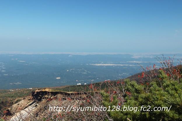 蔵王 刈田岳~宮城県側を望む