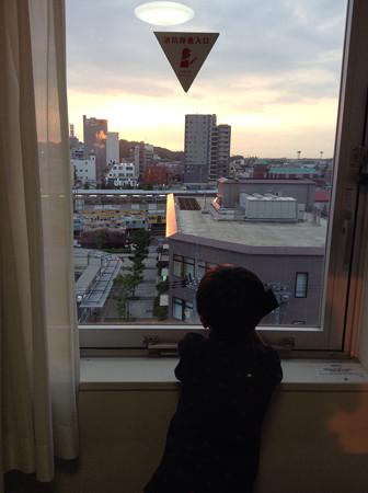 20140719彦根駅前のホテルにて