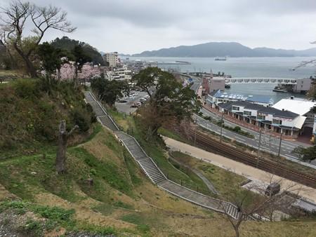 20160414鳥羽城跡4