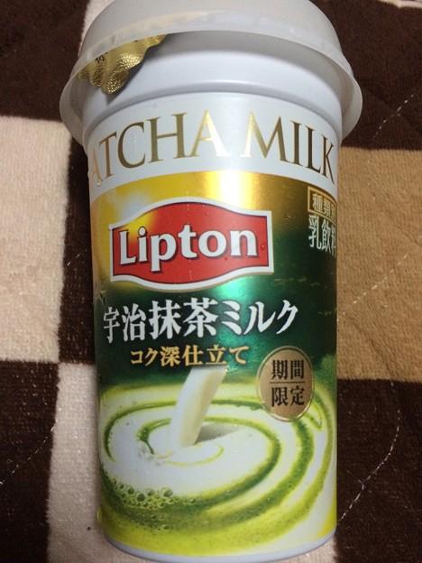 リプトン宇治抹茶ミルク