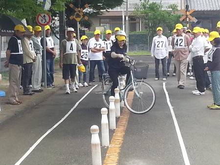 20140628_085202 安城市交通安全きらめき自転車大会