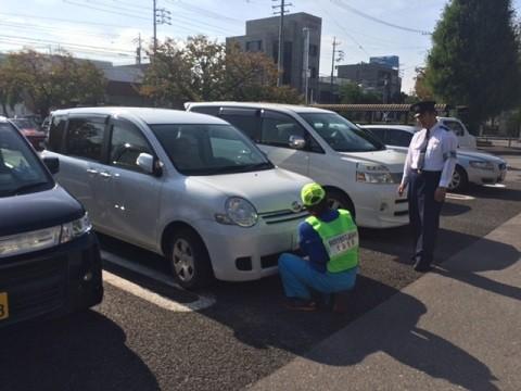 写真: 20141016 ナンバープレート盗難防止ねじキャンペーン (4)