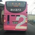 写真: 20141022_073826 古井駅口交差点 - 桜井線バス