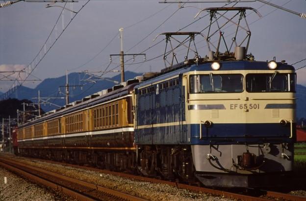 信越線 EF65-501+くつろぎ+EF81-90