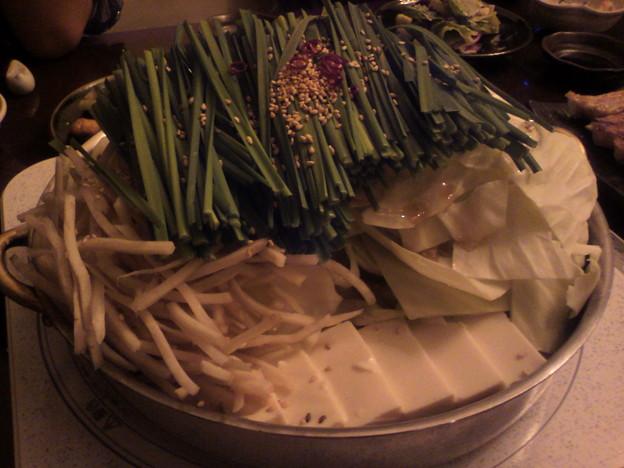 写真: もつ鍋「金鍋」